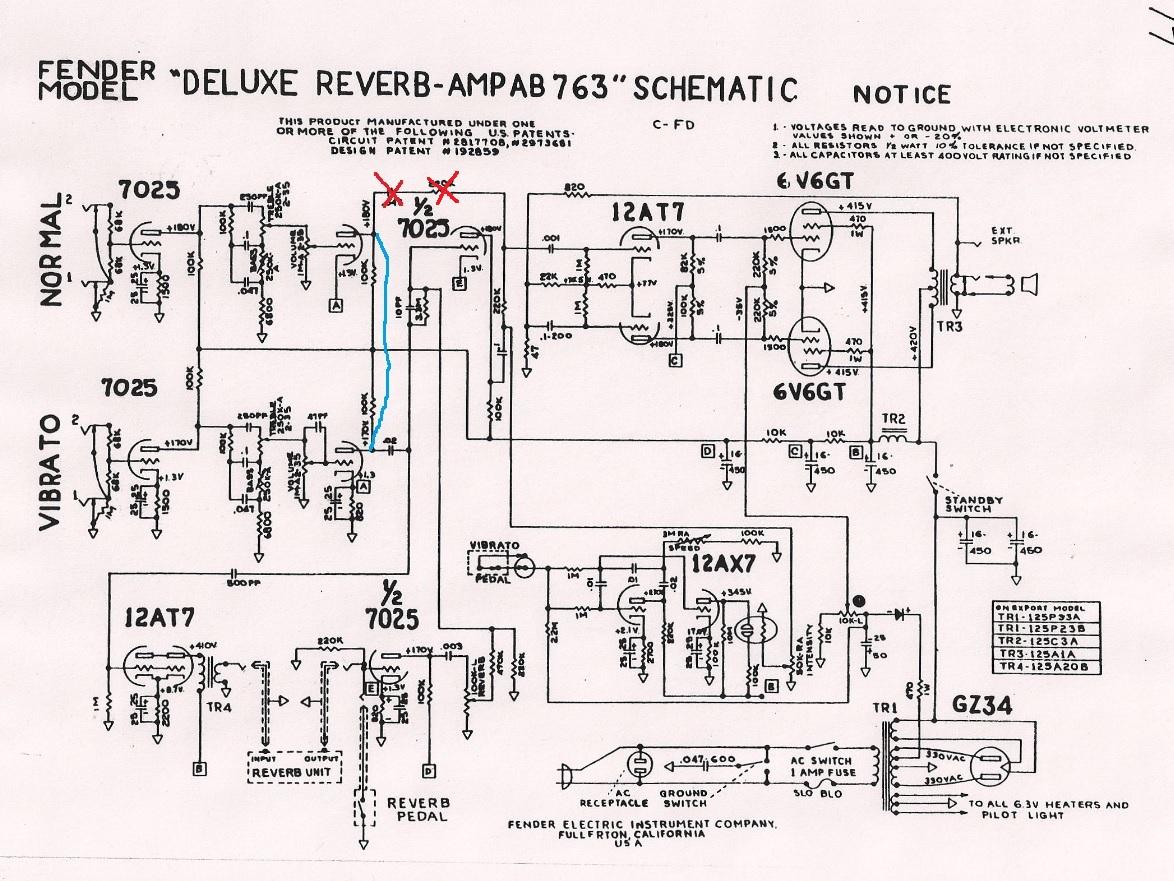 Fender 64 Custom Deluxe Reverb Handwired - Schematic | Page ... on fender deluxe reverb tube layout, fender reverb amp, fender vibrolux schematic, fender super reverb, fender showman schematic, fender vibrato schematic, fender princeton schematic, fender tweed schematic, fender reverb amplifier, 300w amplifier schematic, fender tremolo schematic, fender pro reverb tube, fender reverb plan, fender vibrolux reverb, fender amplifier schematic, fender princeton reverb reissue, fender super amp, fender vibroverb schematic, tube overdrive schematic, fender bandmaster reverb,